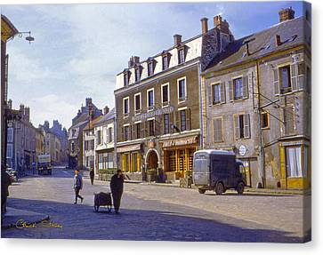French Village Canvas Print by Chuck Staley