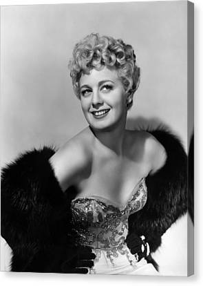 Frenchie, Shelley Winters, 1950 Canvas Print
