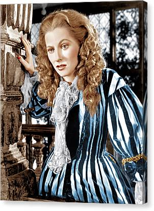 Frenchmans Creek, Joan Fontaine, 1944 Canvas Print by Everett