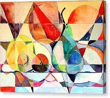 Fresh Fruit Canvas Print by Mindy Newman