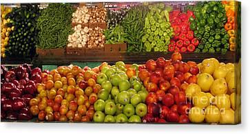 Fresh Market Series. Bounty. Canvas Print by Ausra Huntington nee Paulauskaite