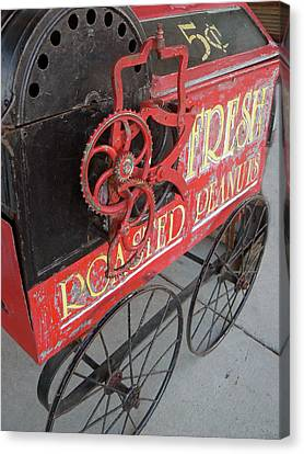 Fresh Roasted Peanuts Canvas Print by Pamela Patch