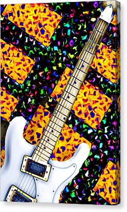 Frets Canvas Print by Bill Cannon