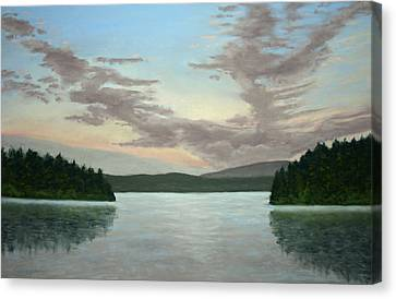 Friday Harbor Sunrise Canvas Print by Carl Capps