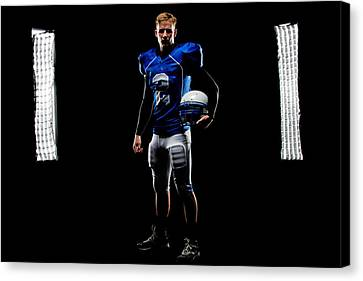 Canvas Print featuring the photograph Friday Night Lights by Jim Boardman