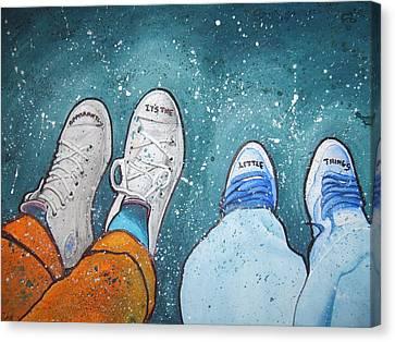 Friendship Canvas Print by Jan Farthing
