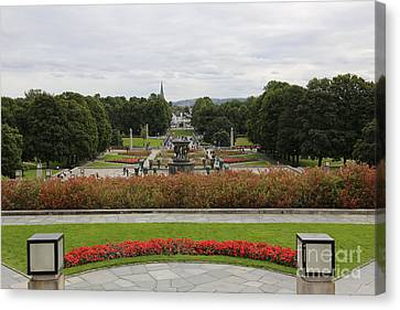 Frogner Park Canvas Print by Carol Groenen