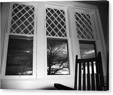 From An 1870's House's Pov Canvas Print