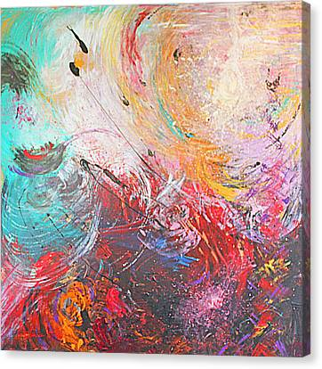 From Anger Into Light  Canvas Print by Catherine Foster