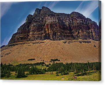 From Logan Pass Canvas Print by Marty Koch