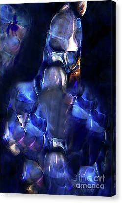 From One Battle To Another Canvas Print by Terril Heilman