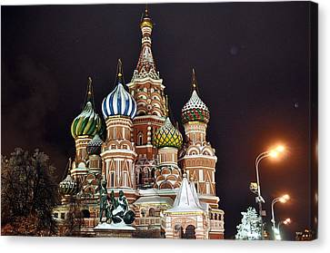 From Russia With Love Canvas Print by Kevin Askew