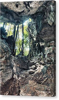 From The Cave Canvas Print by MotHaiBaPhoto Prints