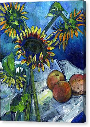 From The Farmer's Market Canvas Print by Carol Mangano