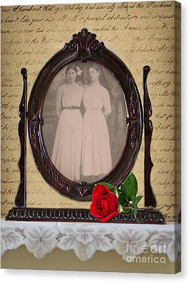 From The Past Canvas Print by Betty LaRue