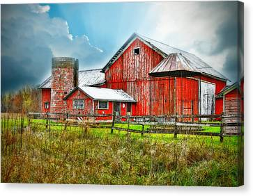 Canvas Print featuring the photograph Frosted by Mary Timman