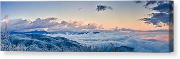 Canvas Print featuring the photograph Frosty Morning by Joye Ardyn Durham