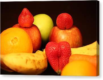 Fruit Dreams Before Daybreak Canvas Print by Andrea Nicosia