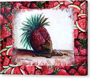 Fruit Fusion Canvas Print by Shana Rowe Jackson