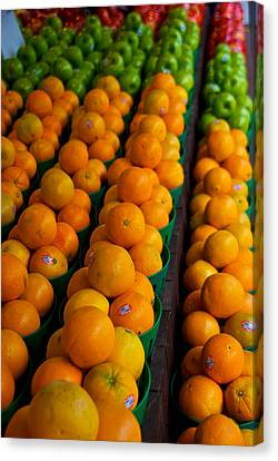 Fruits Canvas Print by Mike Horvath