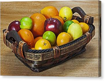 fruits with vitamin C Canvas Print by Joana Kruse