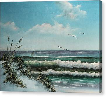 Ft.walton Beauty Canvas Print
