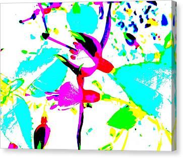 Fuchsia Canvas Print by Barbara Moignard