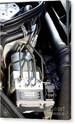 Fuel Injection System Canvas Print by Photo Researchers