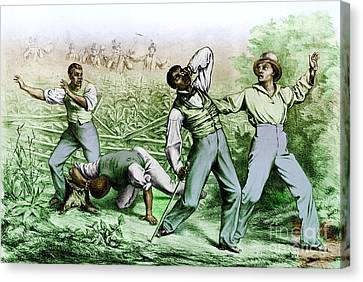Fugitive Slave Law Canvas Print by Photo Researchers