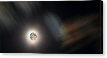 Full Moon II Canvas Print by Jeff Galbraith
