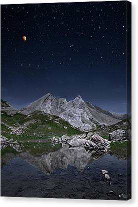 Full Moon To Giants Canvas Print by © Yannick Lefevre - Photography