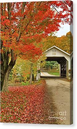 Fuller Bridge Canvas Print by Deborah Benoit