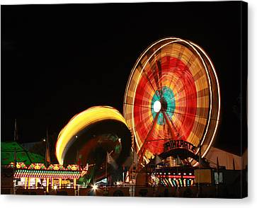 Canvas Print featuring the photograph Fun At The Fair by Tyra  OBryant