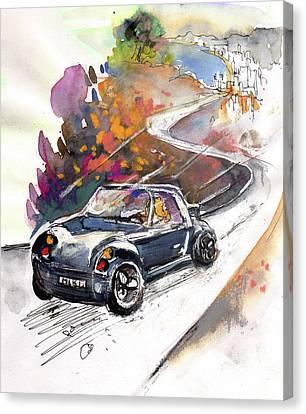 Fun Ride Canvas Print by Miki De Goodaboom