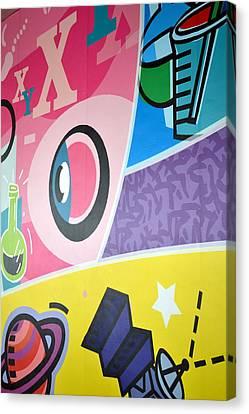 Fun Wall Canvas Print by Ku Azhar Ku Saud
