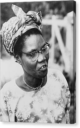Funmilayo Ransome-kuti 1900-1978 Canvas Print by Everett