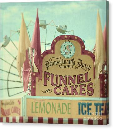 Funnel Cakes Canvas Print by Sylvia Cook