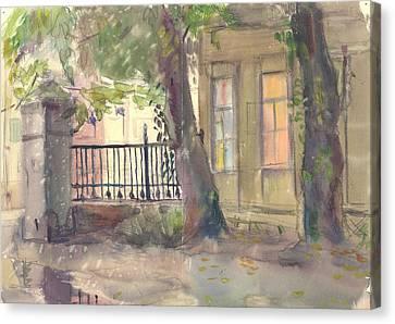 Furmanny Pereulok Canvas Print by Leonid Petrushin
