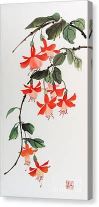 Fuschia Canvas Print by Yolanda Koh