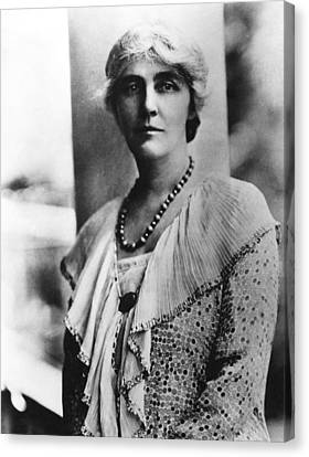 Future First Lady Lou Henry Hoover Canvas Print by Everett