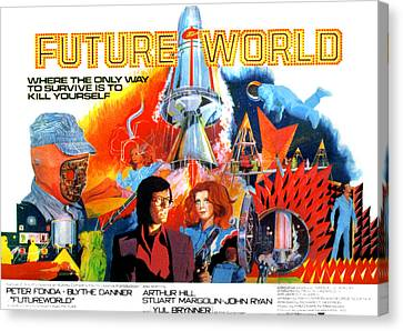 Futureworld, Center, From Left Peter Canvas Print by Everett
