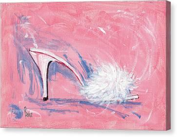Fuzzy Comfort Canvas Print by Richard De Wolfe