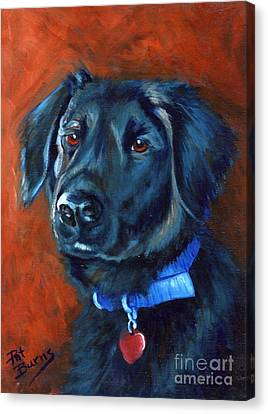 Canvas Print featuring the painting Gabby by Pat Burns