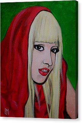 Gaga Hood Canvas Print by Pete Maier