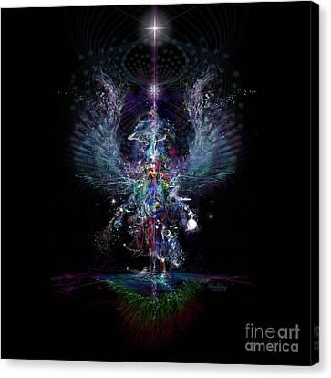 Gaia Birthing New Earth Canvas Print