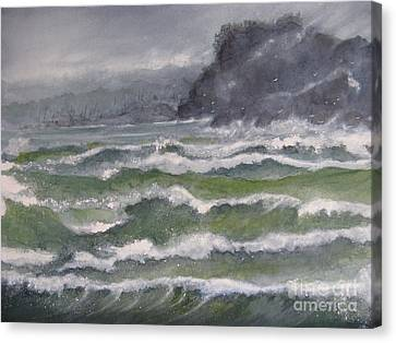 Gale Force Canvas Print by Ronald Tseng