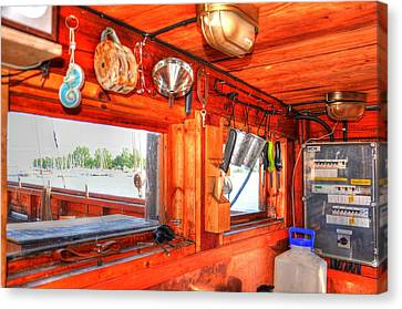 Galley Canvas Print by Barry R Jones Jr