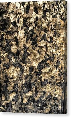 Galvanized Canvas Print by Michael Garyet