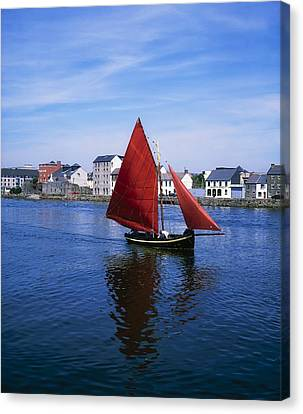 Galway, Co Galway, Ireland Galway Canvas Print by The Irish Image Collection