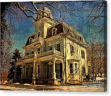 Gambrill Mansion Canvas Print by Lianne Schneider